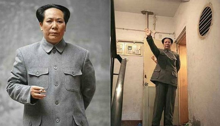 Китаянка Чэнь Янь (Chen Yan) – вылитая копия Мао Цзэдуна