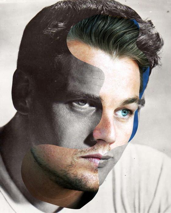 Марка Гали (Marc Ghali) удачно совместил портреты знаменитостей