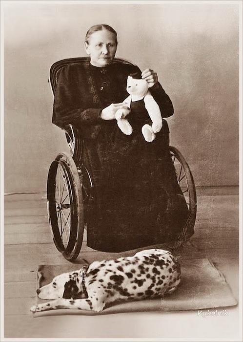 Маргарет Штайф была с детства прикована к инвалидному креслу