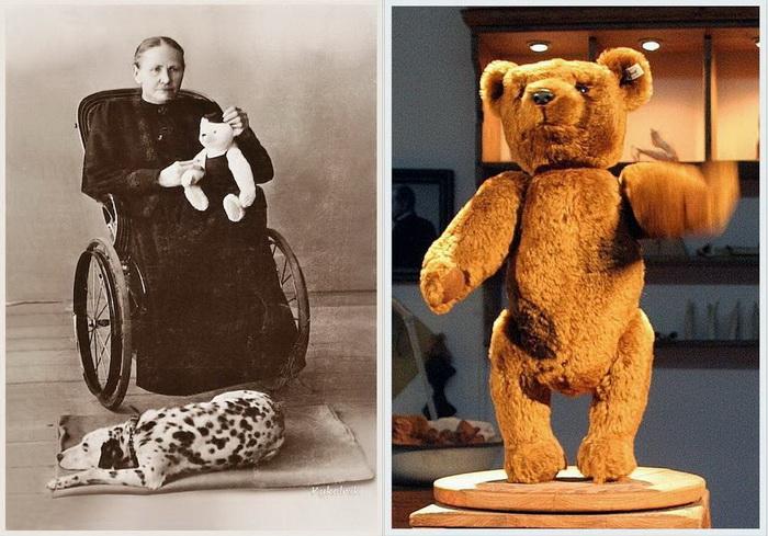 Маргарет Штайф - швея, которая одной из первых стала шить плюшевые игрушки