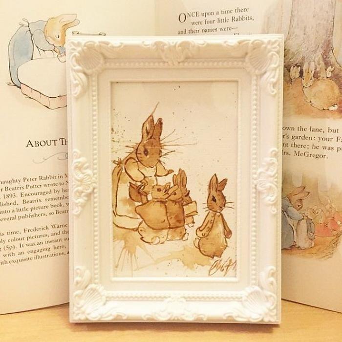 Иллюстрации к сказке 'Кролик Питер' Беатрис Поттер