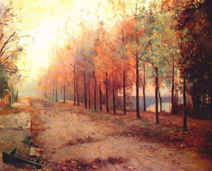 Осень. 1883 год