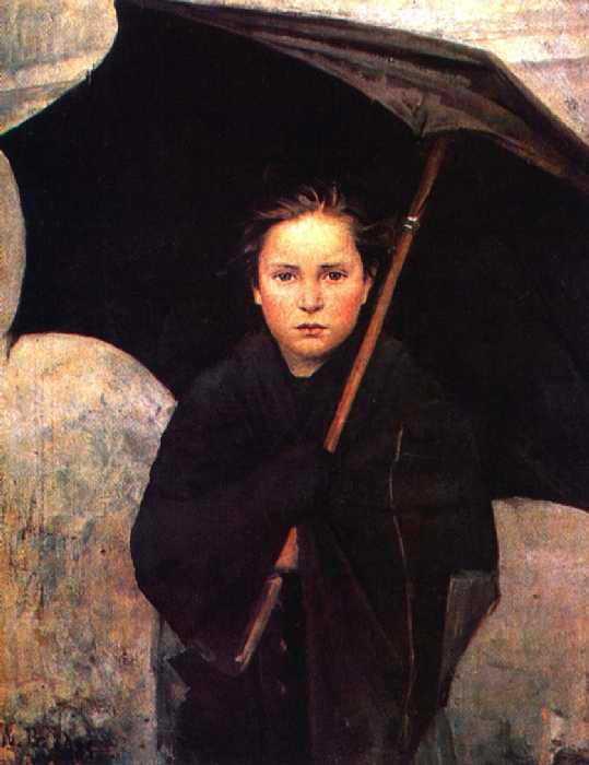 Дождевой зонт. 1883 год