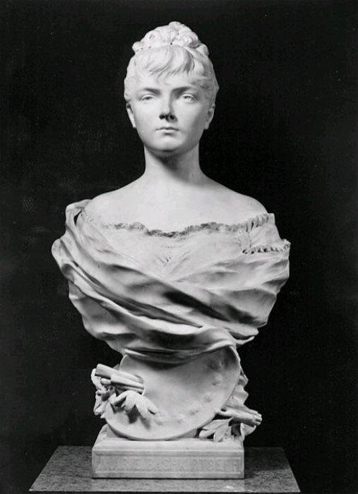 Бюст Марии Башкирцевой