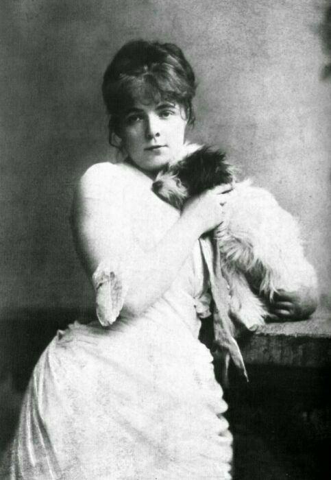 Портрет Марии Башкирцевой
