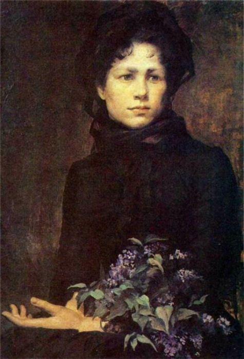 Сирень. 1880 год