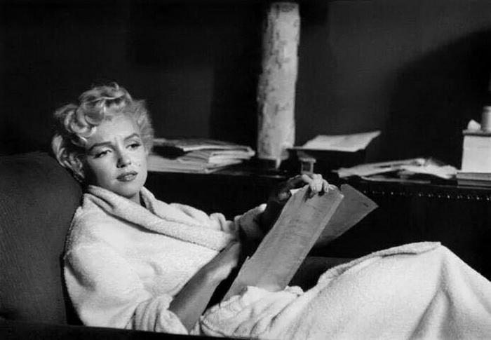 Мэрилин Монро и книги