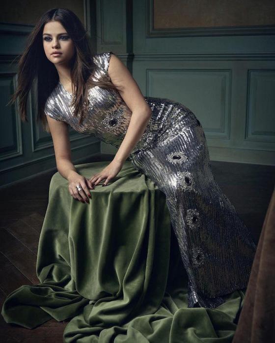 Портрет Селены Гомес (Selena Gomez)