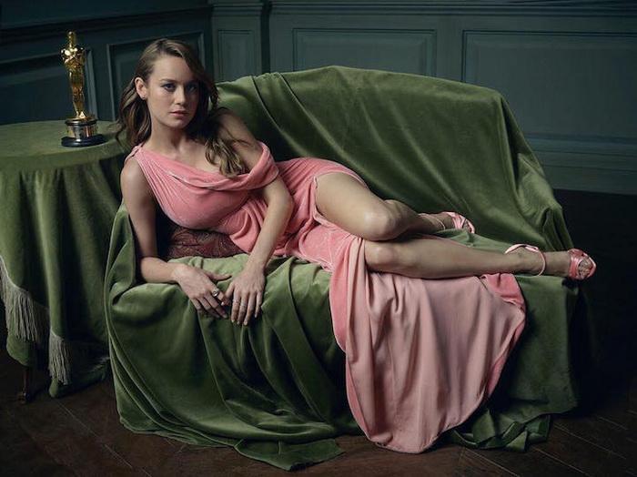 Портрет Бри Ларсон (Brie Larson)