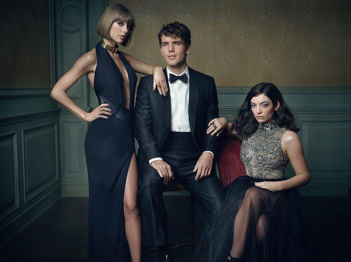 ����� �������: ������ �����, ����� �����, ���� (Taylor Swift, Austin Swift, and Lorde)