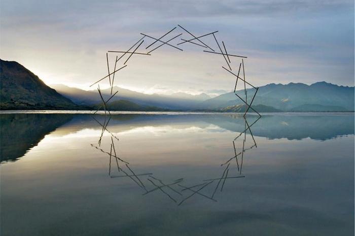 Синергия: Лэнд-арт от Филиппа Джонса (Philippa Jones) и Мартина Хилла (Martin Hill)