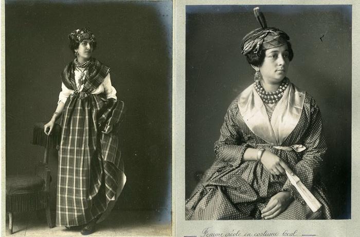 Национальный креольский костюм