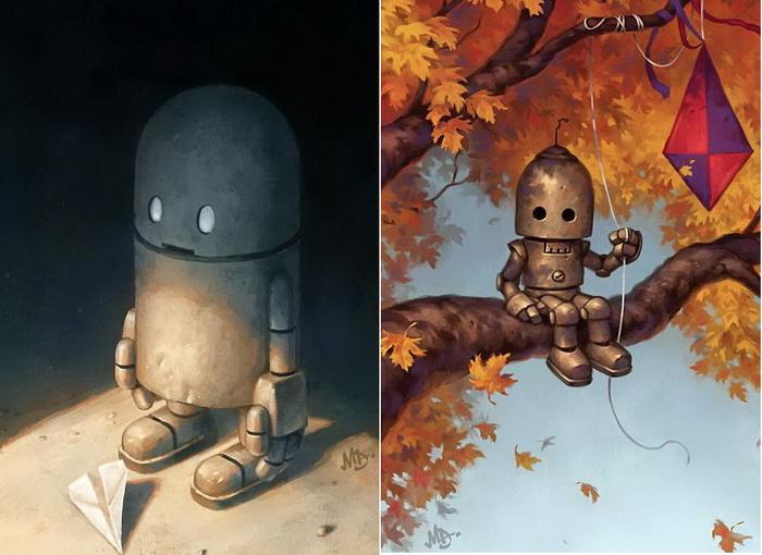 Душевные рисунки от Мэтта Диксона (Matt Dixon)