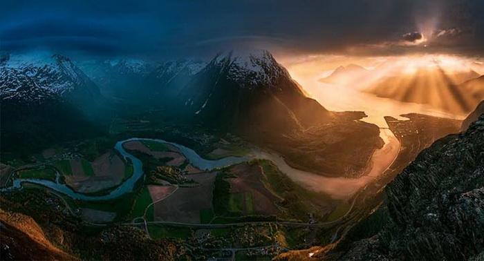 Головокружительные фотографии гор от Макса Райва (Max Rive)