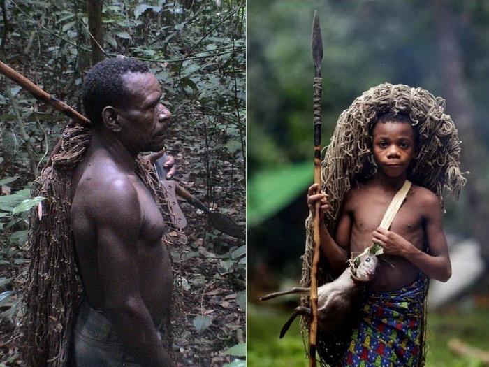 Мбути - самые низкорослые люди в мире