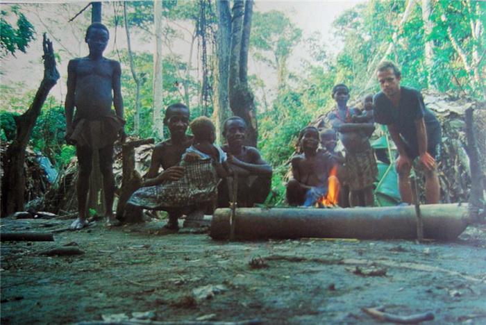 Повседневная жизнь в племени мбути