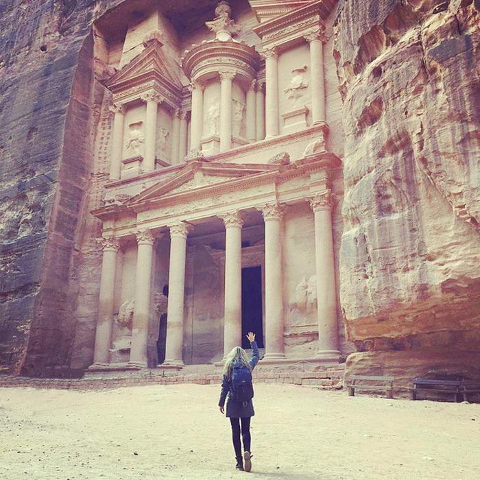 Затерянный город Петра в Иордании