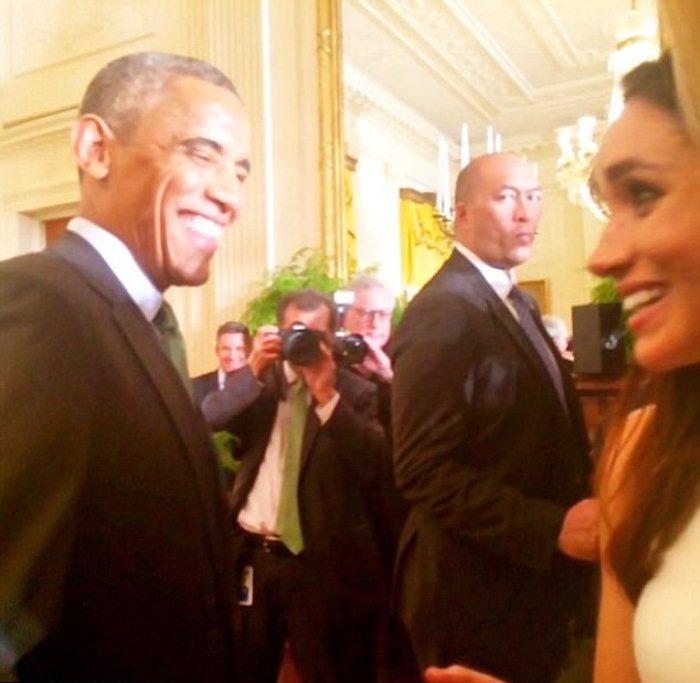 Встреча с Бараком Обамой. 2015 г.