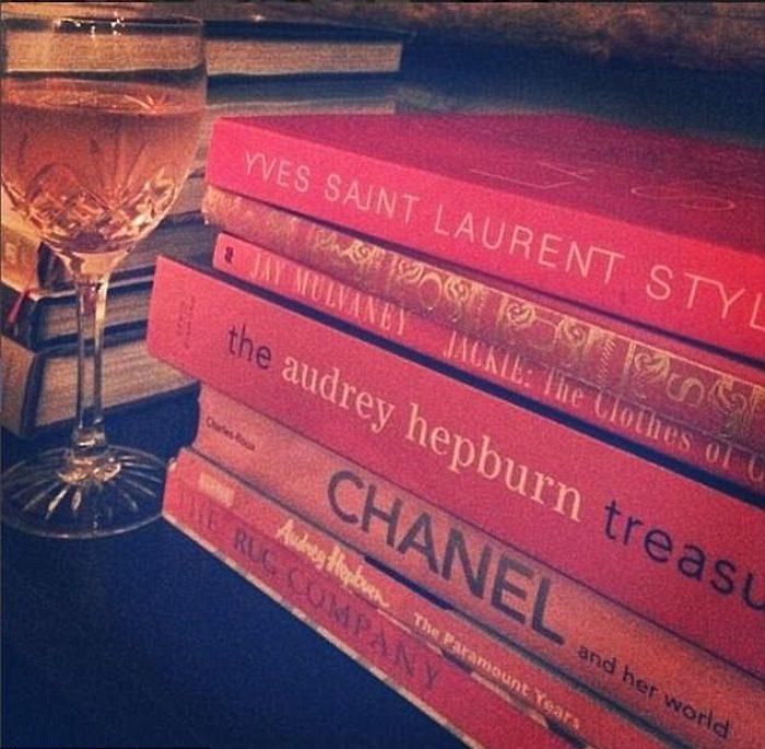 Книги об иконах стиля - Жаклин Кеннеди, Одри Хепберн, Коко Шанель.