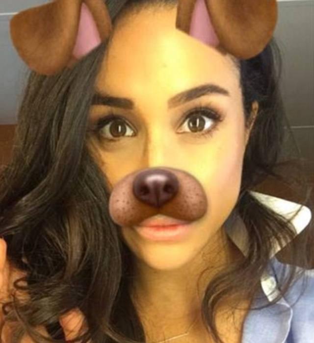 Snapchat селфи: Меган в 2016 году поблагодарила таким образом своих подписчиков за поздравления с Днем Рождения.