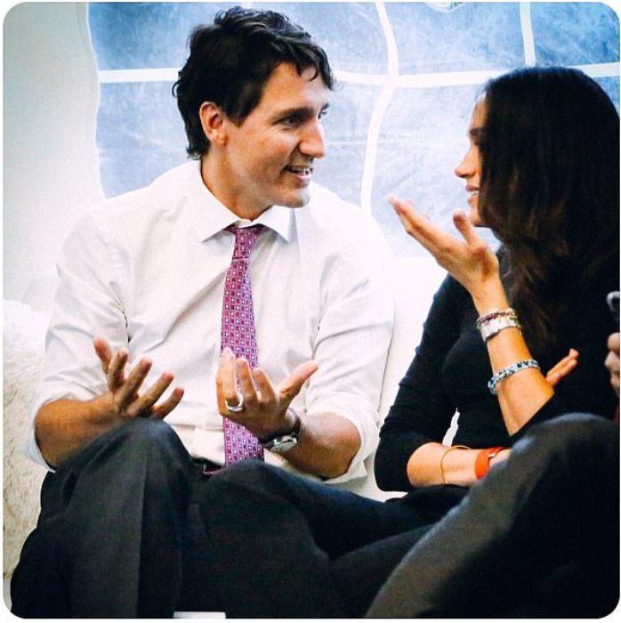Дискуссия с премьер-министром Канады Джастином Трюдо. Октябрь, 2016 г.