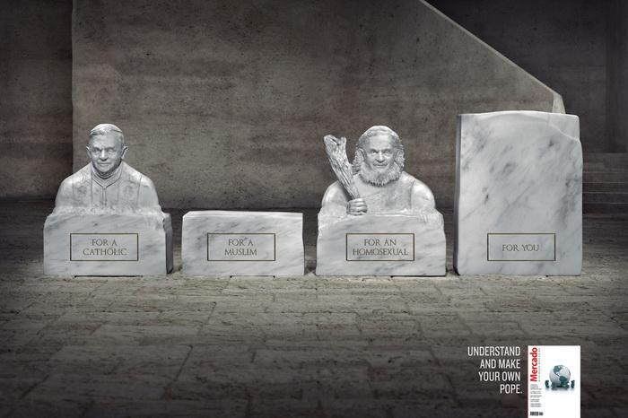 Папа Римский: для одних - пустое место, для других - пещерный человек