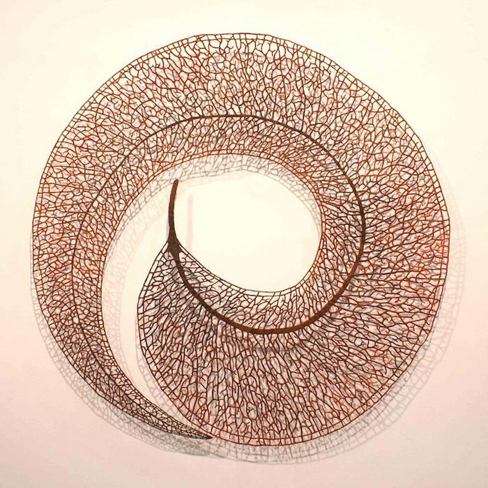 Необычная вышивка от Meredith Woolnough