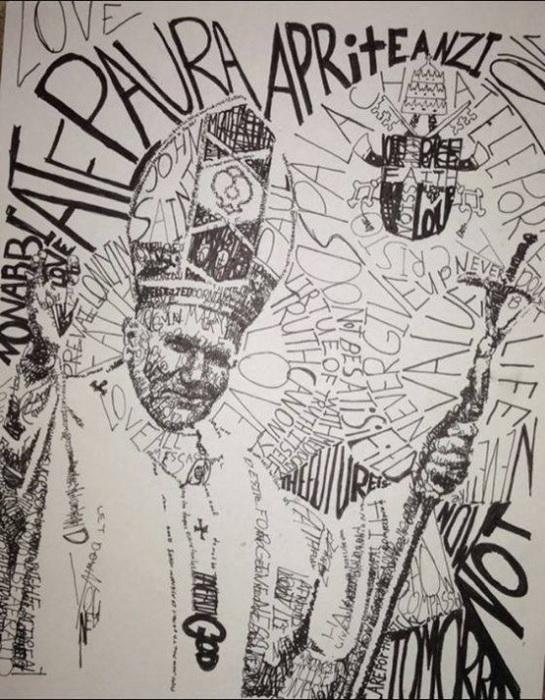 Словесный портрет Папы Римского Иоанна Павла ІІ