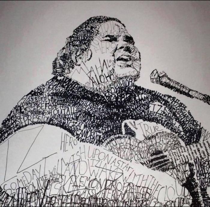 Словесный портрет Израэля Камакавиво'оле