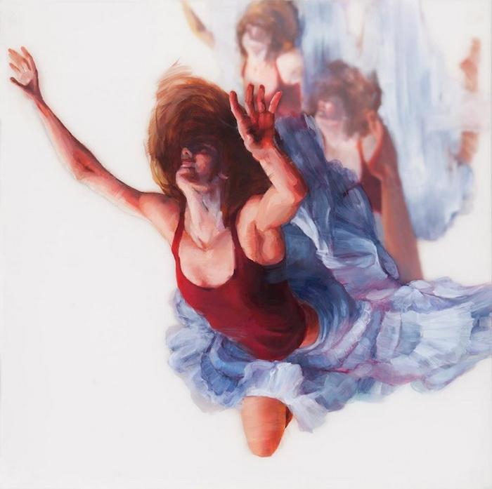 Падение как метафора жизненных перемен на картинах Мишель Джадер