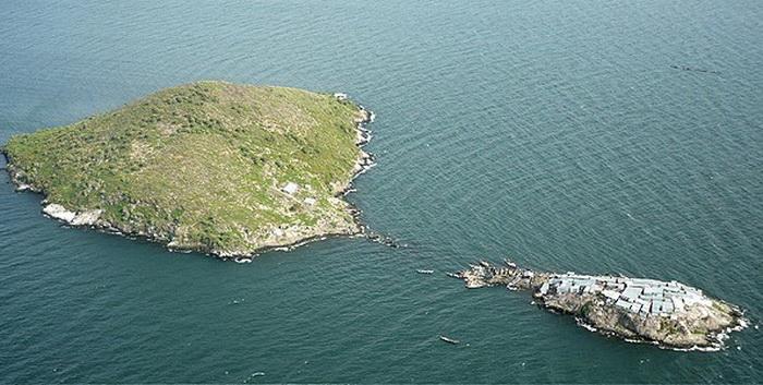 Остров Мигинго расположен в акватории озера Виктория