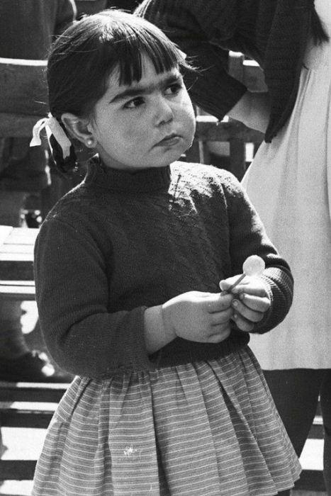 Детский портрет.