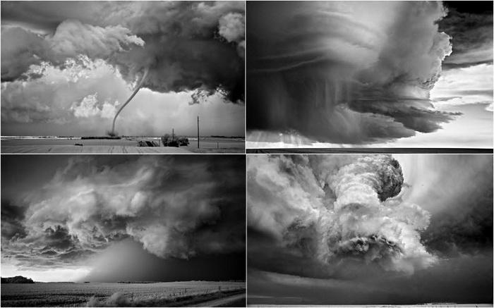 Грозовые облака на фотографиях Митча Добраунера