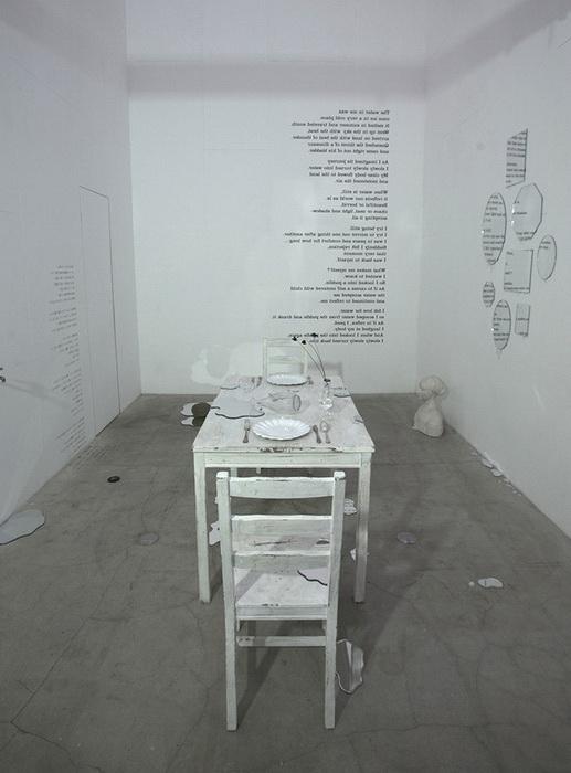 Инсталляция Mizukagami от дизайнеров Rikako Nagashima и Hideto Hyoudou