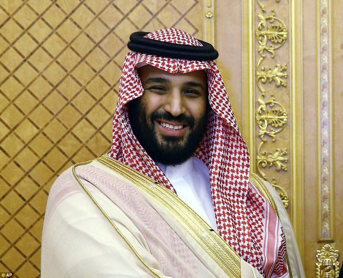Наследный принц Саудовской Аравии Мухаммед ибн Салман.