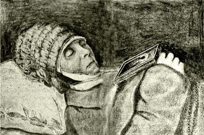 Посмертный портрет Веры Молчальницы — единственное сохранившееся её изображение