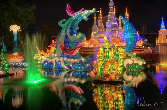 Лунный фестиваль в Китае