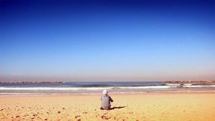 Надя Кузнецова мечтает о море