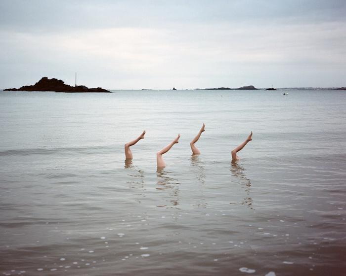 Синхронное плавание: оригинальные фотографии от Жана-Батиста Куртье (Jean-Baptiste Courtier)