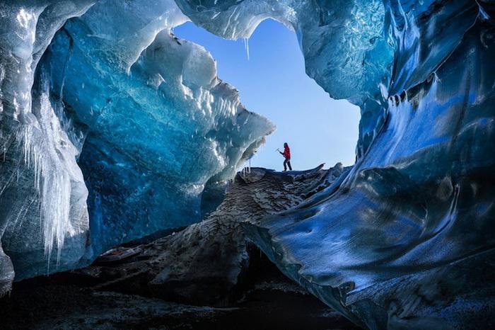 Фотография *Зимняя пещера* от Marcelo Castro
