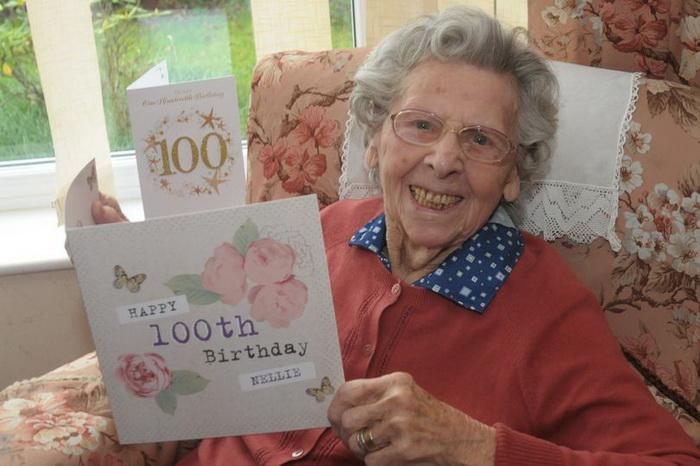 Нелли Осборн нашла оригинальный способ отпраздновать 100-летний юбилей