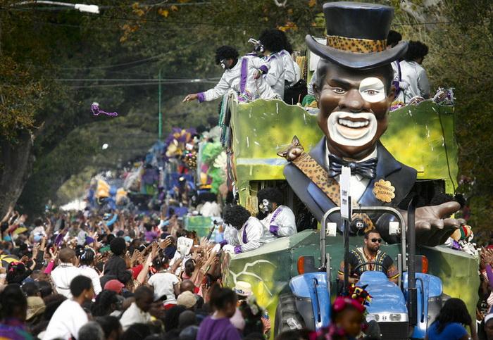 Карнавал в Новом Орлеане