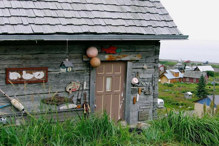 Нинильчик - русская деревня на Аляске.
