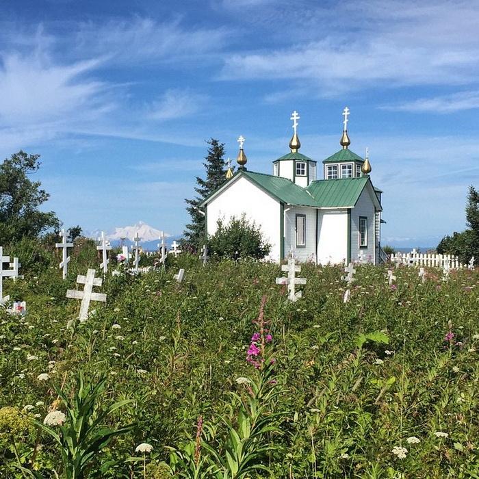 Церковь в Нинильчике.