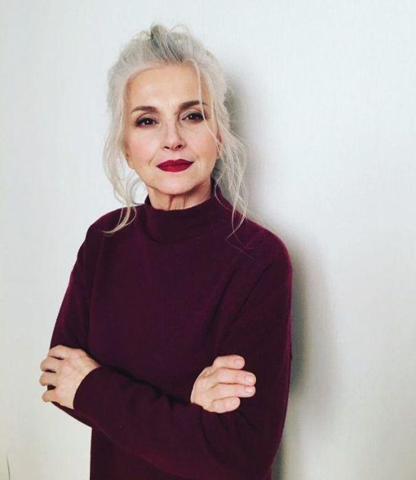 Татьяна Нехлюдова, 61 год. Модель российского агентства Oldushka.