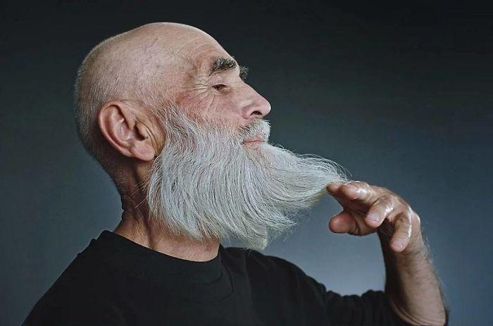 Виктор Сосновцев, 73 года. Модель российского агентства Oldushka.