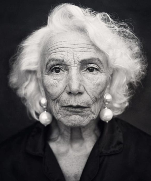 Ирина Денисова, 80 лет. Модель российского агентства Oldushka.