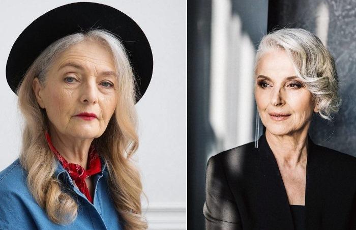 Российское модельное агентство Oldushka работает только с пожилыми моделями.