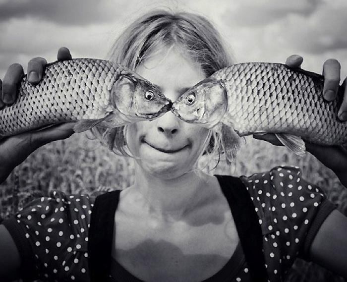 Сюрреалистические фотографии от Александра Гнатенко
