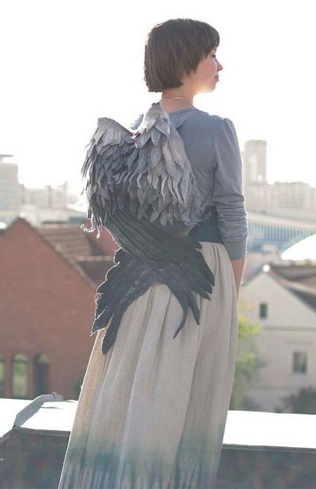 Рюкзаки с крыльями от дизайнера из Белоруссии